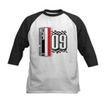 Race Flags M Kids Baseball Jersey