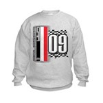 Race Flags M Kids Sweatshirt