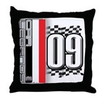 Race Flags M Throw Pillow