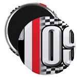 Race Flags M Magnet