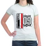 Race Flags M Jr. Ringer T-Shirt