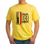 Race Flags M Yellow T-Shirt