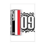 Race Flags M Mini Poster Print