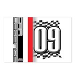 Race Flags M Postcards (Package of 8)