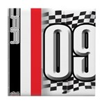 Race Flags M Tile Coaster