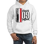 Race Flags M Hooded Sweatshirt