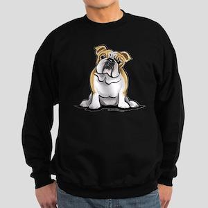 Cute English Bulldog Sweatshirt (dark)