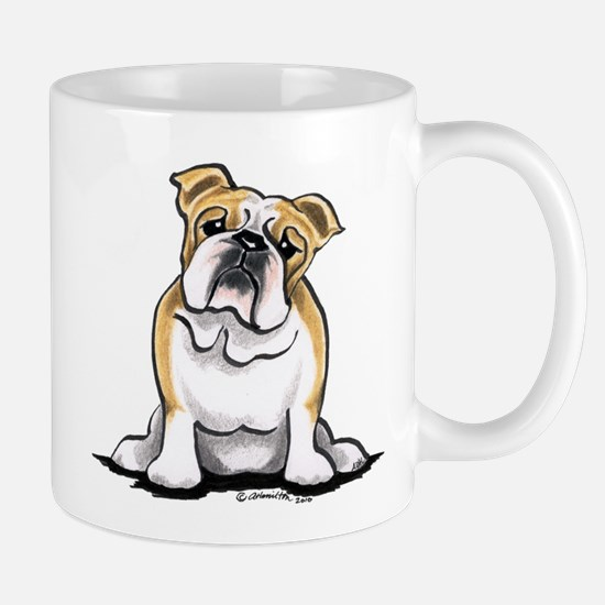 Cute English Bulldog Mug