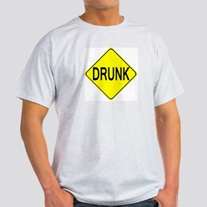 Drunk Ash Grey T-Shirt