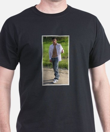 Your Hitchhiker Black T-Shirt