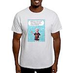 Sensuous Woman Ash Grey T-Shirt