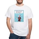 Sensuous Woman White T-Shirt