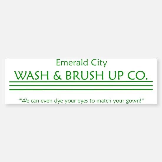 Emerald City of Oz Bumper Bumper Bumper Sticker