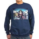 Queen of Hearts Sweatshirt (dark)