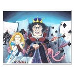 Queen of Hearts Small Poster