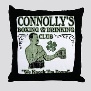 Connolly's Club Throw Pillow