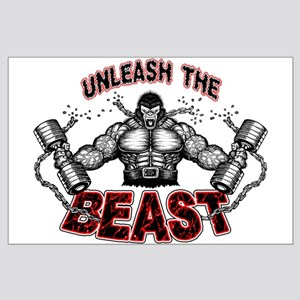 Unleash The Beast Large Poster