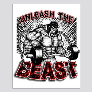 Unleash The Beast Small Poster