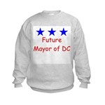 Future Mayor of DC Kids Sweatshirt