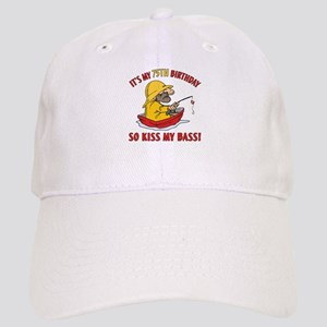 Fishing Gag Gift For 75th Birthday Cap
