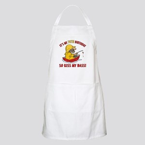 Fishing Gag Gift For 70th Birthday Apron