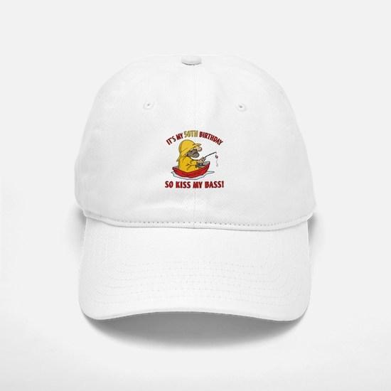 Fishing Gag Gift For 50th Birthday Baseball Baseball Cap
