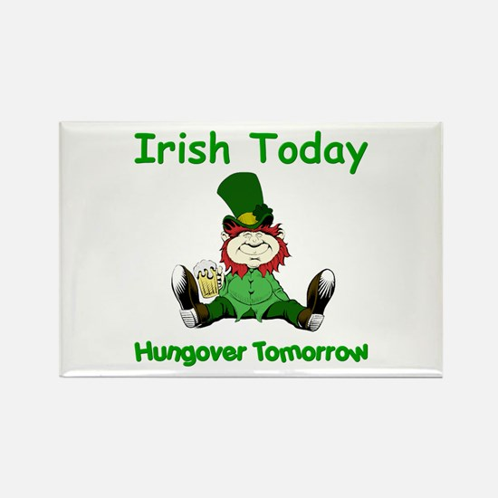 Funny Hang over Rectangle Magnet