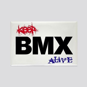 Keep BMX Alive Rectangle Magnet