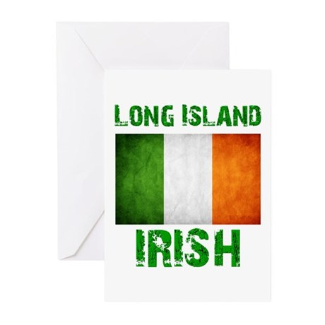 Long Island IRISH Greeting Cards (Pk of 20)