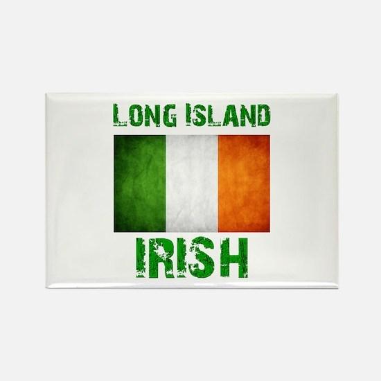 Long Island IRISH Rectangle Magnet