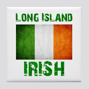 Long Island IRISH Tile Coaster
