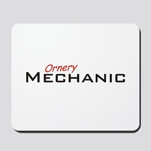 Ornery Mechanic Mousepad