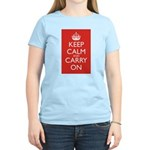 Keep Calm and Carry On Women's Light T-Shirt