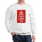 Keep Calm and Carry On Sweatshirt