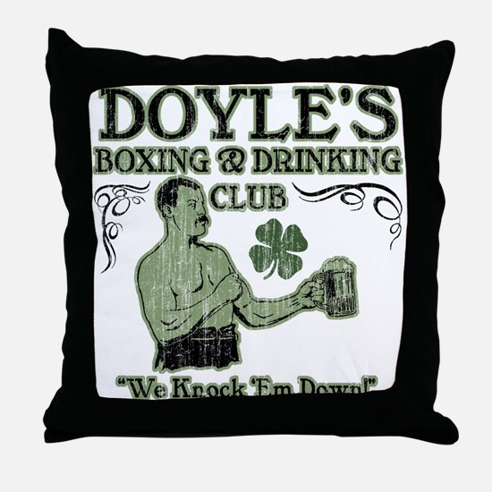 Doyle's Club Throw Pillow