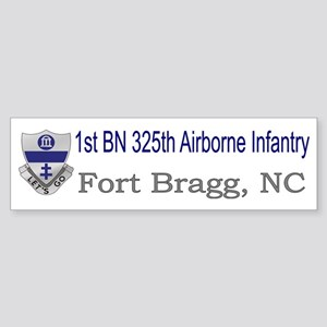 1st Bn 325th ABN Inf Sticker (Bumper)
