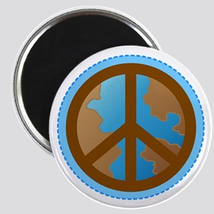 Peace Sign Earth Day Magnet