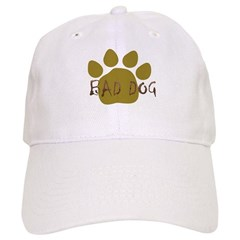 Bad Dog light brown Baseball Cap