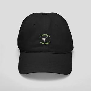 80th Birthday Golfing Gag Black Cap