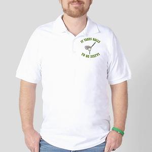 60th Birthday Golfing Gag Golf Shirt
