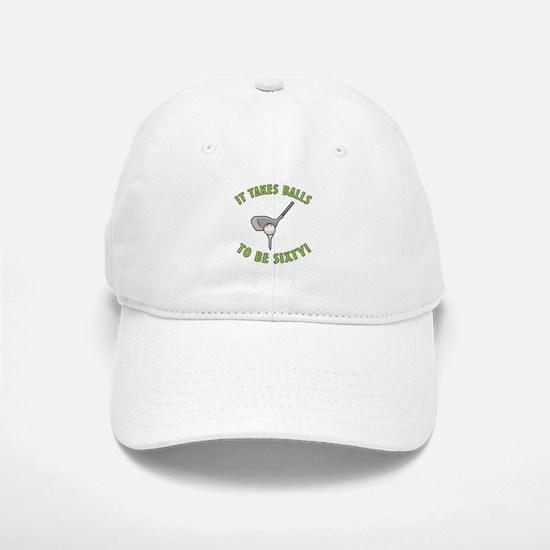 60th Birthday Golfing Gag Baseball Baseball Cap