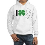I Shamrock New Jersey! Hooded Sweatshirt
