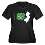 I Shamrock New Jersey! Women's Plus Size V-Neck Da