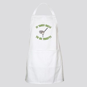 30th Birthday Golfing Gag Apron