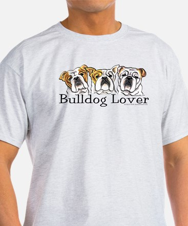 English Bulldog Lover T-Shirt