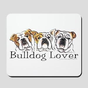 English Bulldog Lover Mousepad