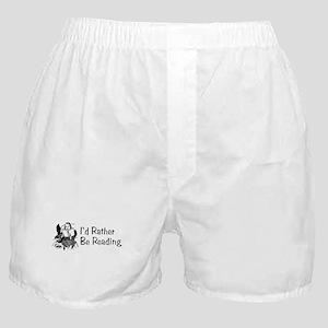 I'd Rather Be Reading Boxer Shorts
