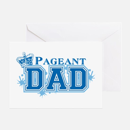 Pageant Dad Greeting Card