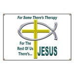 Jesus Therapy Banner