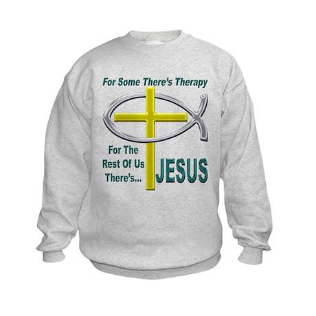 Jesus Therapy Kids Sweatshirt